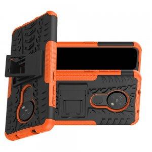 ONYX Противоударный бронированный чехол для Nokia 6.2 / Nokia 7.2 - Оранжевый