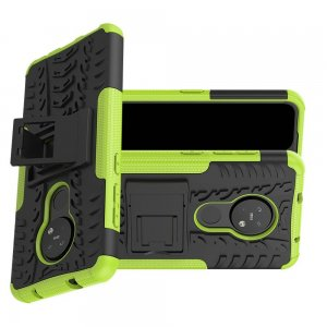 ONYX Противоударный бронированный чехол для Nokia 6.2 / Nokia 7.2 - Зеленый