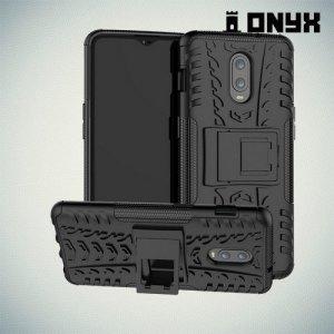 ONYX Противоударный бронированный чехол для OnePlus 7 / OnePlus 6T - Черный