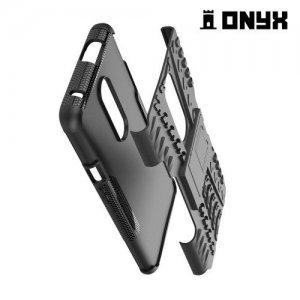 ONYX Противоударный бронированный чехол для OnePlus 7 Pro - Черный