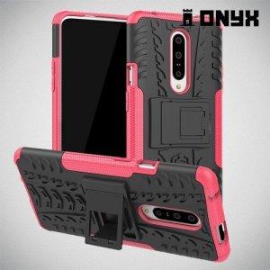 ONYX Противоударный бронированный чехол для OnePlus 7 Pro - Розовый