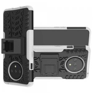 ONYX Противоударный бронированный чехол для OnePlus 7T - Белый