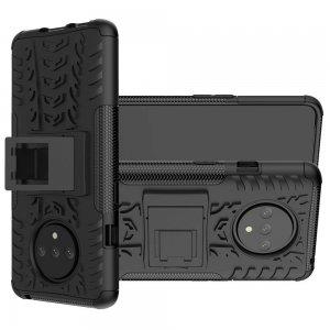ONYX Противоударный бронированный чехол для OnePlus 7T - Черный