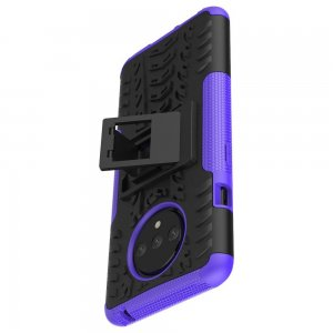 ONYX Противоударный бронированный чехол для OnePlus 7T - Фиолетовый