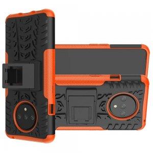 ONYX Противоударный бронированный чехол для OnePlus 7T - Оранжевый