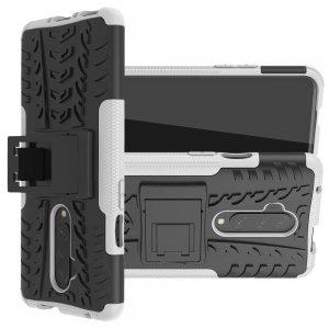 ONYX Противоударный бронированный чехол для OnePlus 7T Pro - Белый