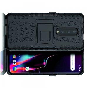 ONYX Противоударный бронированный чехол для OnePlus 7T Pro - Черный