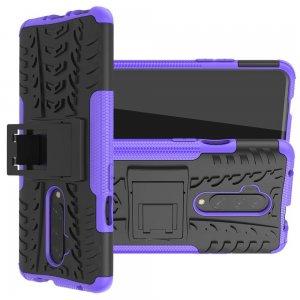 ONYX Противоударный бронированный чехол для OnePlus 7T Pro - Фиолетовый