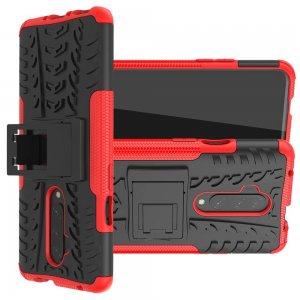 ONYX Противоударный бронированный чехол для OnePlus 7T Pro - Красный
