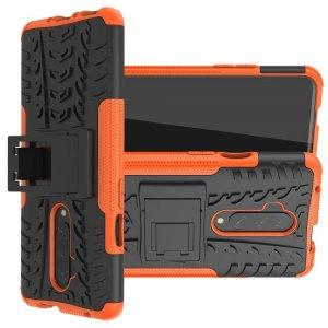 ONYX Противоударный бронированный чехол для OnePlus 7T Pro - Оранжевый