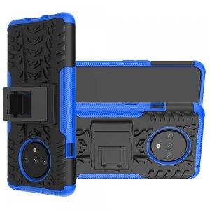 ONYX Противоударный бронированный чехол для OnePlus 7T - Синий
