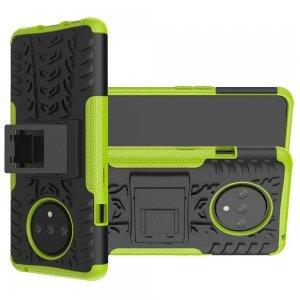 ONYX Противоударный бронированный чехол для OnePlus 7T - Зеленый