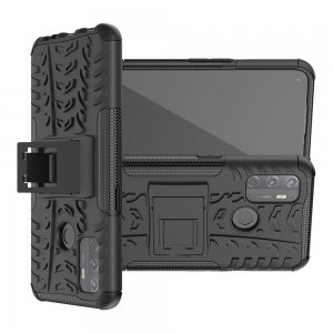 ONYX Противоударный бронированный чехол для Oppo A53 (2020) - Черный
