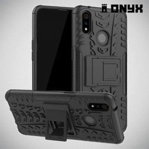 ONYX Противоударный бронированный чехол для Oppo Realme 3 Pro / X Lite - Черный