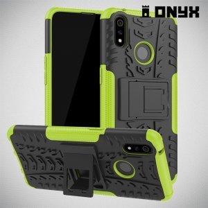 ONYX Противоударный бронированный чехол для Oppo Realme 3 Pro / X Lite - Зеленый