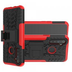 ONYX Противоударный бронированный чехол для OPPO Realme 5 - Красный