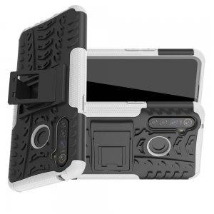 ONYX Противоударный бронированный чехол для OPPO Realme 5 Pro - Белый