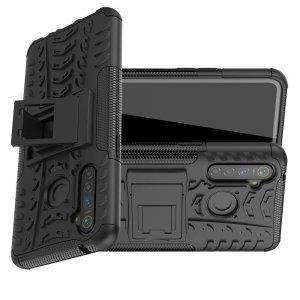 ONYX Противоударный бронированный чехол для OPPO Realme 5 Pro - Черный