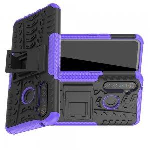 ONYX Противоударный бронированный чехол для OPPO Realme 5 Pro - Фиолетовый