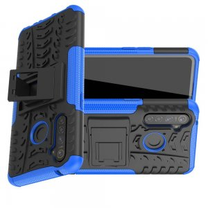 ONYX Противоударный бронированный чехол для OPPO Realme 5 Pro - Синий