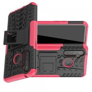 ONYX Противоударный бронированный чехол для OPPO Realme 5 Pro - Светло-Розовый