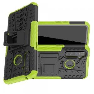 ONYX Противоударный бронированный чехол для OPPO Realme 5 Pro - Зеленый