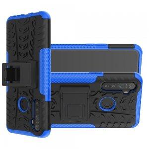 ONYX Противоударный бронированный чехол для OPPO Realme 5 - Синий
