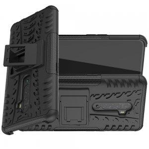 ONYX Противоударный бронированный чехол для OPPO Reno 2 - Черный