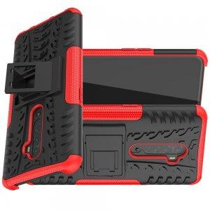 ONYX Противоударный бронированный чехол для OPPO Reno 2 - Красный