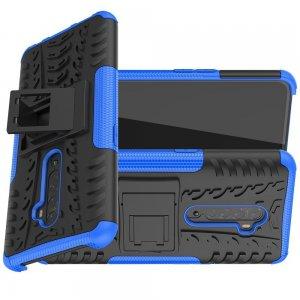 ONYX Противоударный бронированный чехол для OPPO Reno 2 - Синий