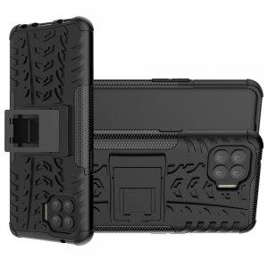 ONYX Противоударный бронированный чехол для OPPO Reno 4 Lite - Черный
