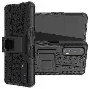 ONYX Противоударный бронированный чехол для Realme 7 - Черный