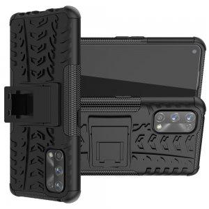 ONYX Противоударный бронированный чехол для Realme 7 Pro - Черный