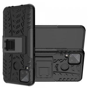 ONYX Противоударный бронированный чехол для Realme C11 - Черный