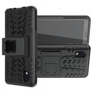 ONYX Противоударный бронированный чехол для Samsung Galaxy A01 Core - Черный