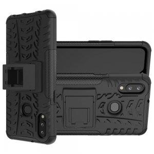 ONYX Противоударный бронированный чехол для Samsung Galaxy A10s - Черный