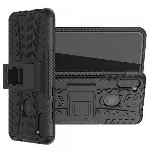 ONYX Противоударный бронированный чехол для Samsung Galaxy A11 / Galaxy M11 - Черный