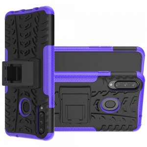 ONYX Противоударный бронированный чехол для Samsung Galaxy A20s - Фиолетовый