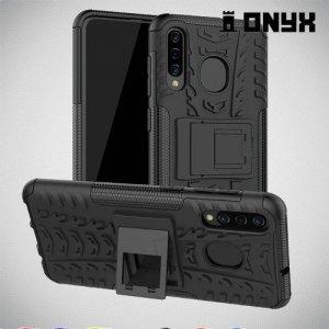 ONYX Противоударный бронированный чехол для Samsung Galaxy A30 / A20 - Черный