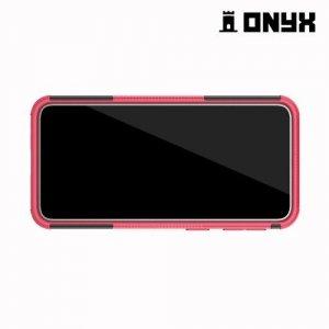 ONYX Противоударный бронированный чехол для Samsung Galaxy A40 - Розовый
