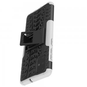 ONYX Противоударный бронированный чехол для Samsung Galaxy A71 - Белый