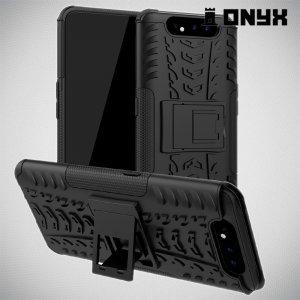 ONYX Противоударный бронированный чехол для Samsung Galaxy A80 / A90 - Черный