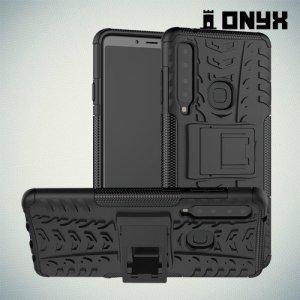 ONYX Противоударный бронированный чехол для Samsung Galaxy A9 2018 SM-A920F - Черный