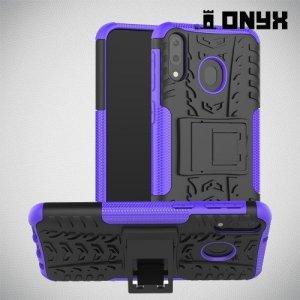 ONYX Противоударный бронированный чехол для Samsung Galaxy M20 - Синий
