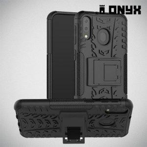 ONYX Противоударный бронированный чехол для Samsung Galaxy M20 - Черный