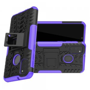 ONYX Противоударный бронированный чехол для Samsung Galaxy M30s - Фиолетовый