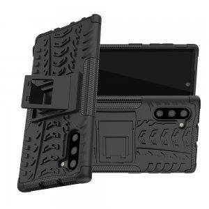 ONYX Противоударный бронированный чехол для Samsung Galaxy Note 10 - Черный