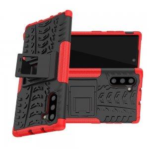 ONYX Противоударный бронированный чехол для Samsung Galaxy Note 10 - Красный