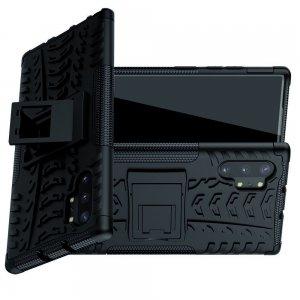 ONYX Противоударный бронированный чехол для Samsung Galaxy Note 10 Plus / 10+ - Черный