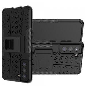 ONYX Противоударный бронированный чехол для Samsung Galaxy S21 Plus / S21+ - Черный
